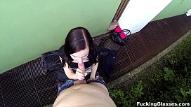 Out-of-town gal youporn Jenny Diamond redtube fucked outside tube8 teen porn