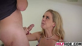 Soaked Stepmom Does Not...