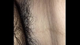 Very beautiful  hairy pussy Asian Indian girl fuck me