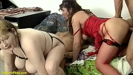 b. chubby family therapy anal orgy