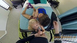 Alix and Addison - Threesome...