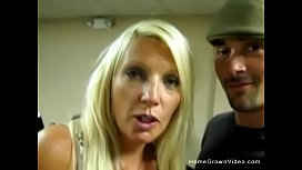 Hot busty mature blonde fucks a y. guy