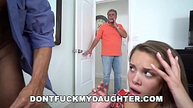 DON'T FUCK MY DAUGHTER - Glen Woodview Fucks His Buddy's Daughter Liza Rowe