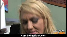 Huge Black Meat Going into Horny Mom 14