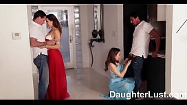 Fathers Trade Virgin Daughters...