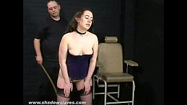 Amateur spanking and cruel...