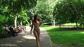 Spectacular Public Nudity With...
