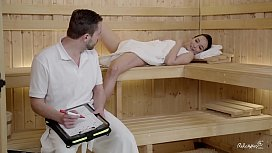 RELAXXXED - Wet sauna sex...