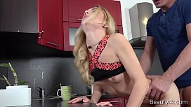 Alecia Fox - Kitchen fuck...