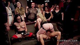 Orgy party with double panetrations