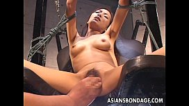 Bdsm treated Asian with...