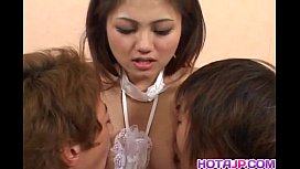 Aki Anzai gets dick...