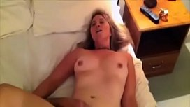 Horny wife fucks her...