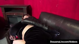 Bound Cougars Deauxma &amp_ Ashley Renee Fuck Ball Gagged!