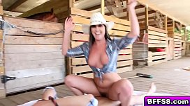 Hot farm babes awesome...
