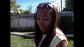 Ebony teen persuaded to...