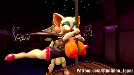 Rouge The Pole Dance...