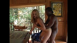 Hot blond fucking black...