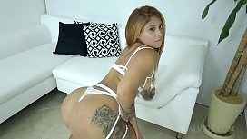 Laura Monroy assfucked by BBC for the first time NT017