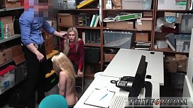 Sexy blonde cop and...