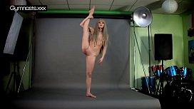 Hot gymnast naked teen