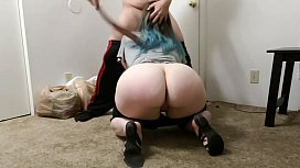 Little Sister Spanked And Force Fucked