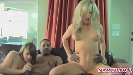 Cuckold Wives in Gangbang...
