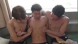 Gay asian twinks sucking...