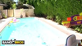 BANGBROS - Pool Partying with...