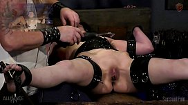 Bound Orgasms Torture Rack...