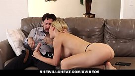 SheWillCheat - Cheating Wife Deepthroats...