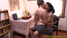 Real aussie lesbian licking babe