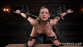 Slave in device bondage...