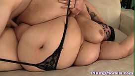 Gorgeous fatty with massivetits gets fucked