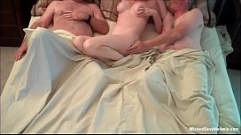 Exhausting Threesome For Amateur...