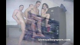 Three horny bisexual studs...
