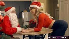 MomsTeachSex - Santas Horny Helpers In Christmas Threesome S9E7