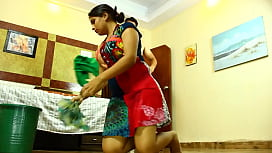 Indian Maid Seduced Softcore...