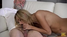 OLD4K. Lovers spend the whole day performing old and young sex
