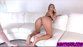 Bad bitch Jill Kassidy has man juice filling pussy
