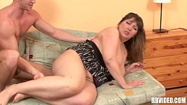 German bbw slag gets...