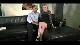 slutty blonde goes to porn-More on casting-couch.ml