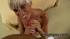 Hot blonde milf fucks...
