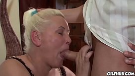Fat gilf fucked and...