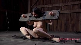 Tough sweetheart gets wild toy on her clits and in her anal