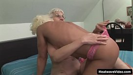 These two older dames won'_t let a simple thing like old age hold them back from having fun