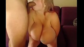 Blonde Beautiful Wife With Huge Tits Sucking Dick - Cam Porn