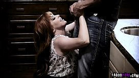 Penny Pax hairy pussy gets fuck sideways