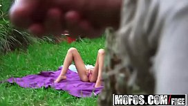 Mofos - Pervs On Patrol - Melissa Moore - Tanning Teen Likes It Rough