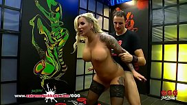 Tattooed Busty Mom Jarushka Ross Fucked Hard - Extreme Bukkake